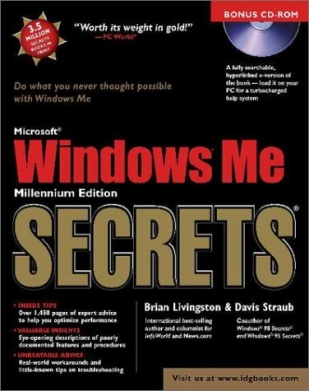 Windows Me SECRETS